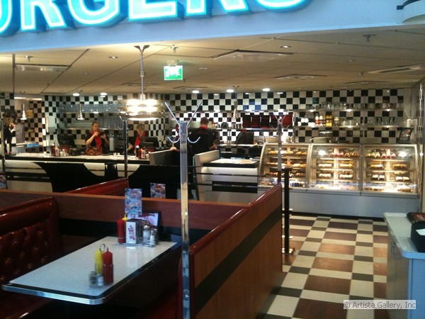 Daddy's Diner at the Mall in Finland by New Retro Hotels